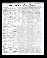 Acton Free Press (Acton, ON), September 20, 1894