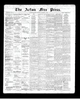 Acton Free Press (Acton, ON), October 4, 1894