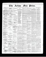 Acton Free Press (Acton, ON)18 Oct 1894
