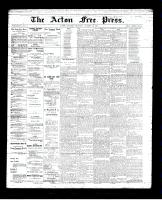 Acton Free Press (Acton, ON), October 25, 1894