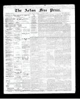 Acton Free Press (Acton, ON), November 15, 1894