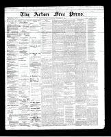 Acton Free Press (Acton, ON), November 22, 1894