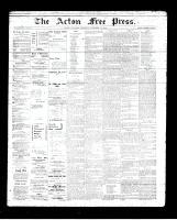 Acton Free Press (Acton, ON), December 13, 1894