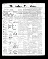 Acton Free Press (Acton, ON)27 Dec 1894