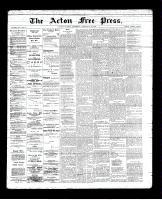 Acton Free Press (Acton, ON)28 Feb 1895