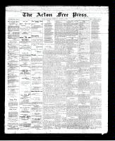 Acton Free Press (Acton, ON)14 Mar 1895