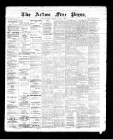 Acton Free Press (Acton, ON)11 Apr 1895