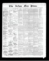 Acton Free Press (Acton, ON)25 Apr 1895
