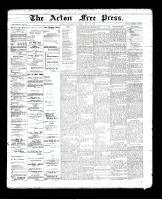Acton Free Press (Acton, ON)16 May 1895