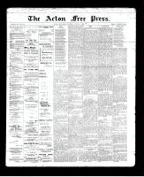 Acton Free Press (Acton, ON)6 Jun 1895