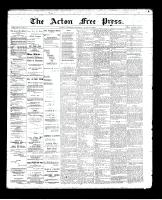 Acton Free Press (Acton, ON)20 Jun 1895
