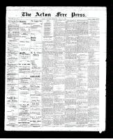 Acton Free Press (Acton, ON)11 Jul 1895