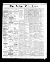 Acton Free Press (Acton, ON)18 Jul 1895