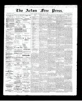 Acton Free Press (Acton, ON)25 Jul 1895