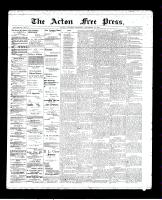 Acton Free Press (Acton, ON)19 Sep 1895