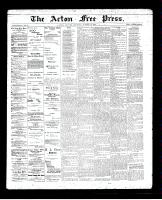 Acton Free Press (Acton, ON)17 Oct 1895