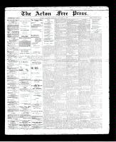 Acton Free Press (Acton, ON)14 Nov 1895