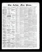 Acton Free Press (Acton, ON)28 Nov 1895