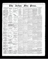 Acton Free Press (Acton, ON), January 9, 1896