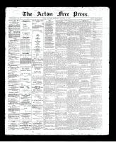 Acton Free Press (Acton, ON)16 Jan 1896