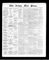 Acton Free Press (Acton, ON)23 Jan 1896