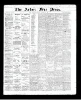 Acton Free Press (Acton, ON), January 30, 1896