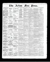 Acton Free Press (Acton, ON), February 6, 1896