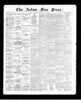 Acton Free Press (Acton, ON)13 Feb 1896