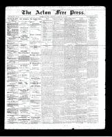 Acton Free Press (Acton, ON), February 20, 1896