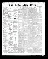Acton Free Press (Acton, ON), April 23, 1896