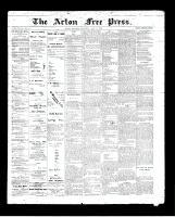 Acton Free Press (Acton, ON)14 May 1896