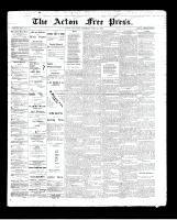Acton Free Press (Acton, ON)21 May 1896