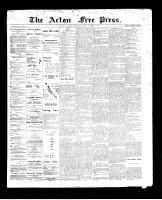 Acton Free Press (Acton, ON)28 May 1896