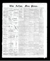 Acton Free Press (Acton, ON)11 Jun 1896
