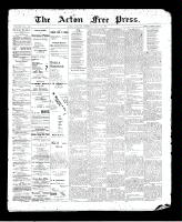 Acton Free Press (Acton, ON)30 Jul 1896