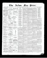 Acton Free Press (Acton, ON)13 Aug 1896