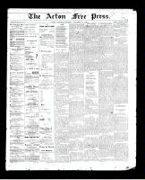 Acton Free Press (Acton, ON)10 Sep 1896