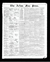 Acton Free Press (Acton, ON), October 1, 1896