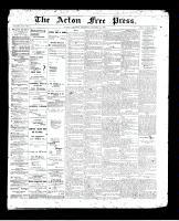 Acton Free Press (Acton, ON), October 8, 1896