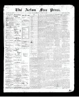 Acton Free Press (Acton, ON)15 Oct 1896