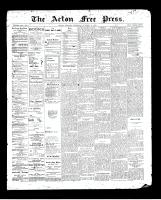 Acton Free Press (Acton, ON), October 22, 1896