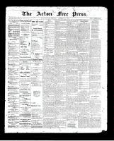 Acton Free Press (Acton, ON), November 26, 1896