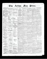 Acton Free Press (Acton, ON)3 Dec 1896