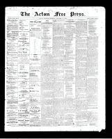 Acton Free Press (Acton, ON), December 31, 1896