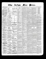 Acton Free Press (Acton, ON)7 Jan 1897