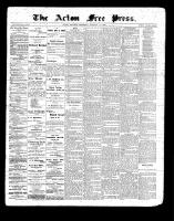 Acton Free Press (Acton, ON)14 Jan 1897