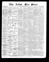Acton Free Press (Acton, ON)25 Feb 1897