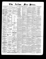 Acton Free Press (Acton, ON)18 Mar 1897