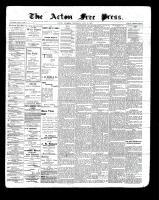 Acton Free Press (Acton, ON)15 Jul 1897