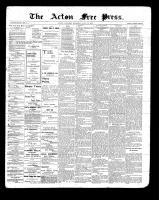 Acton Free Press (Acton, ON), July 22, 1897